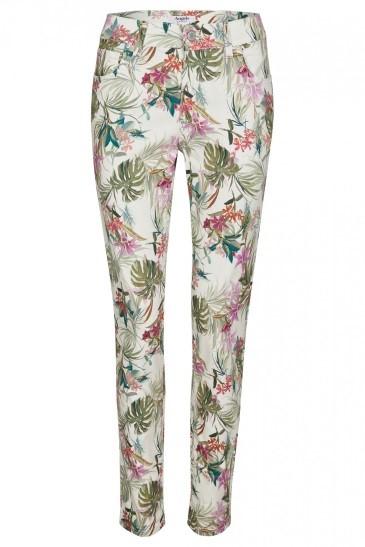 Angels Jeans 'Skinny' mit floralem Allover-Muster